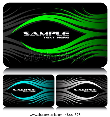 business cards set 38