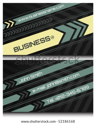 business cards set 45