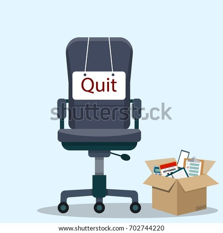 business chair with quit