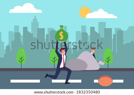 business cheating vector