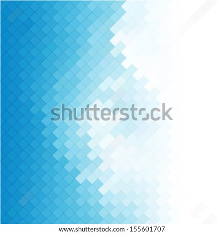 business concept abstract blue background with geometric mosaic shapes