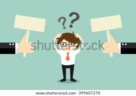 business concept  businessman