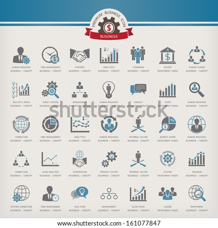 Business Concept Icon set