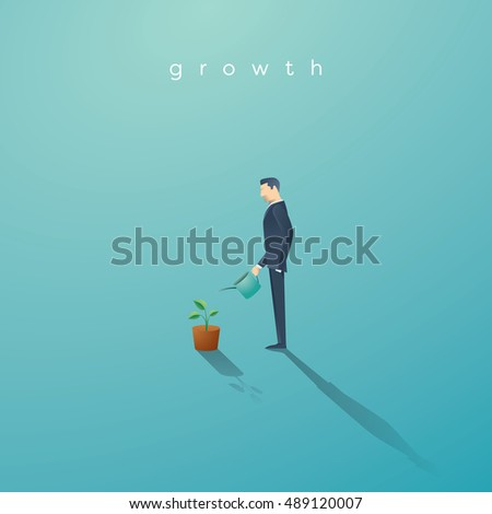 business concept of growth