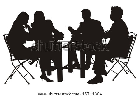 business conference vector illustration