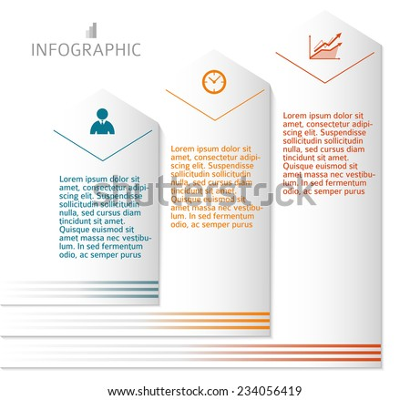 Business corporate template vector illustration EPS 10. Abstract background for chart process service your company / for stages new business: investment, implementation, manufacturing, financial risk