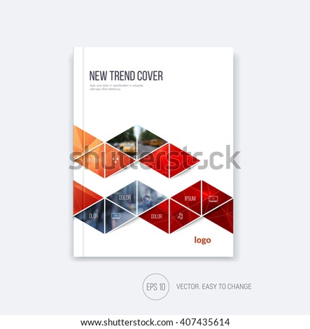 business cover design  abstract