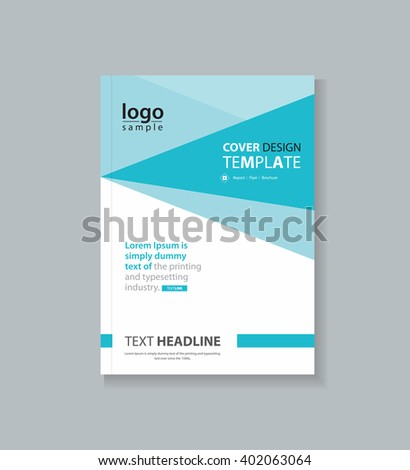business cover design template for  brochure , annual report, fl yer and company profile