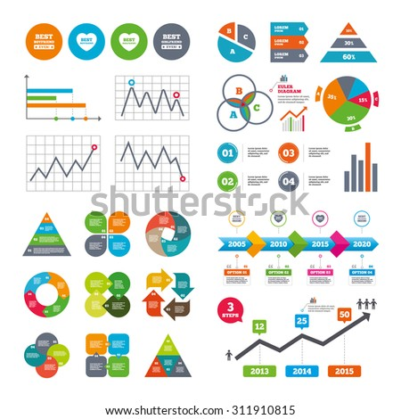business data pie charts graphs