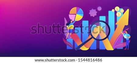 Business development strategy evaluation. Competitive analysis, strengths and weaknesses of your competition, company marketing plan concept. Header or footer banner template with copy space.