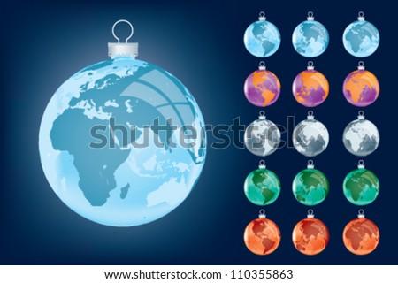 business festive globe  xmas