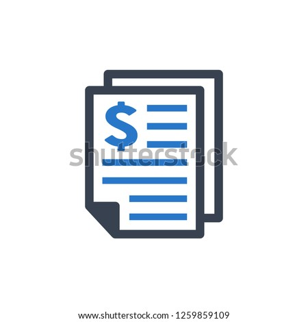 Business - Financial report Icon