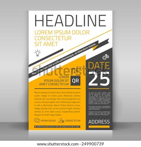 business flyer design  broshure