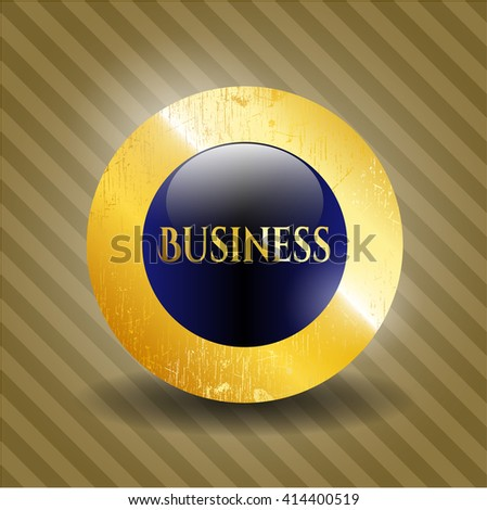 Business gold badge
