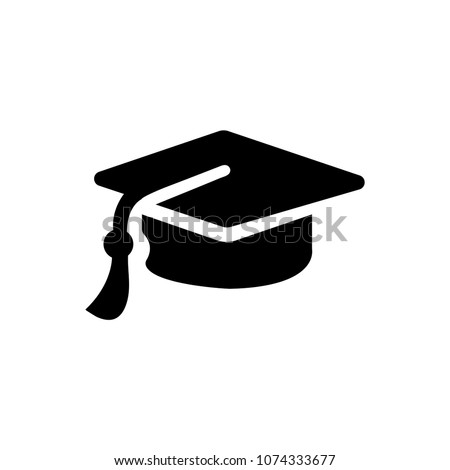 Business Graduation Cap icon