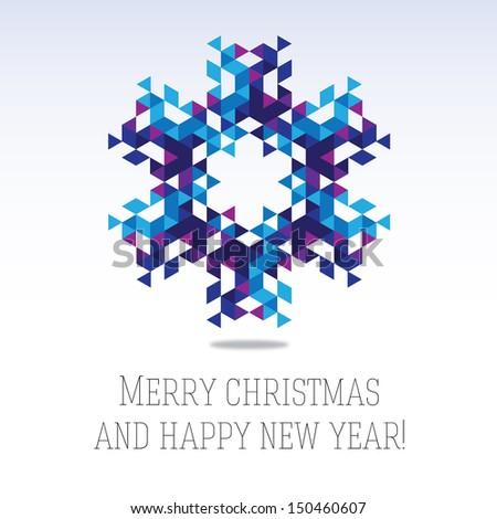 business greeting christmas and