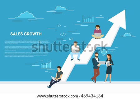 business growth concept...