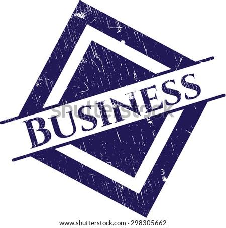 Business grunge seal