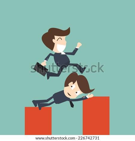 Business Help - Concept of teamwork