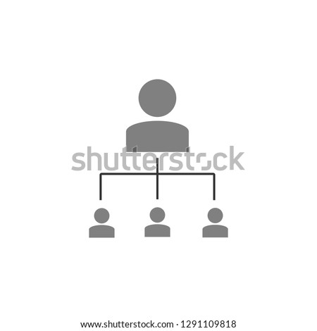 business, hierarchy icon. Element of marketing icon for mobile concept and web apps. Detailed business, hierarchy can be used for web and mobile