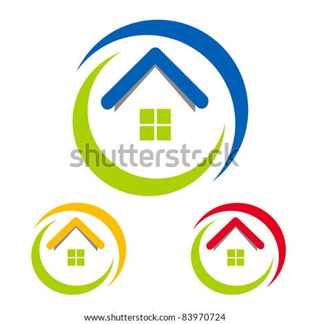 Home Design on Business House Icons Design Stock Vector 83970724   Shutterstock