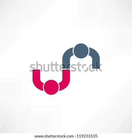 business icon handshake