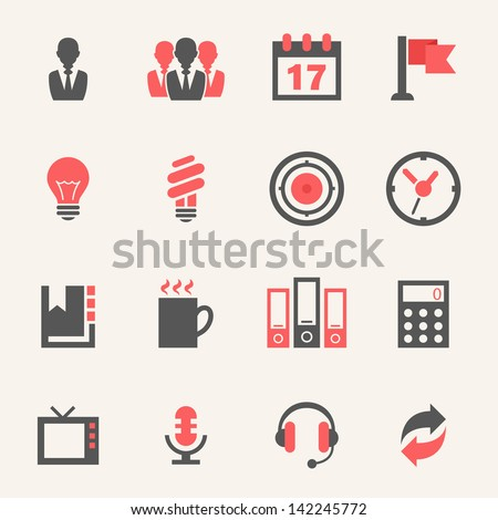 Business. Icon set