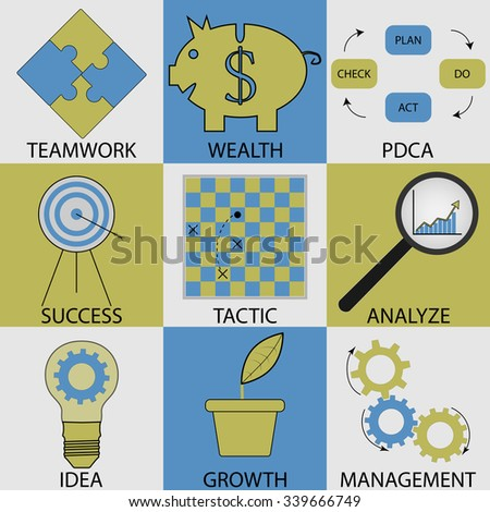 Royalty Free Stock Photos and Images: Business icon set ...