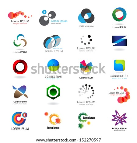 Business Icons Set - Isolated On White Background - Vector Illustration, Graphic Design Editable For Your Design