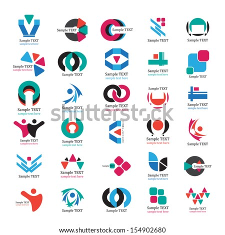 Business Icons Set - Isolated On White Background - Vector Illustration, Graphic Design Editable For Your Design. Business Logo