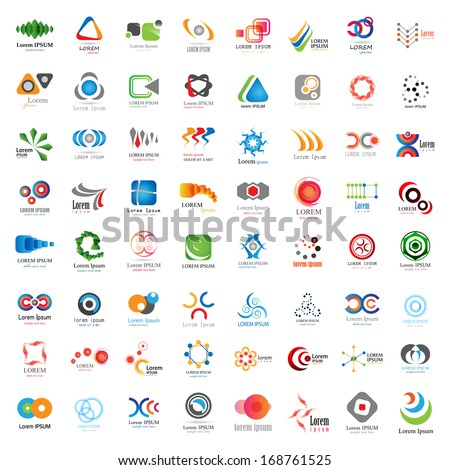 business icons set   isolated