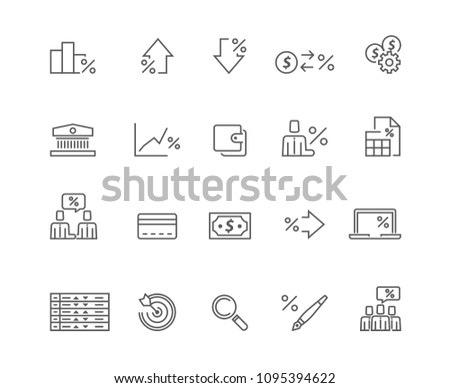 Business icons set,Vector