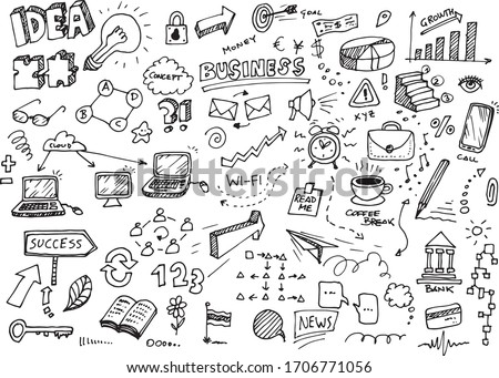 business idea hand drawn
