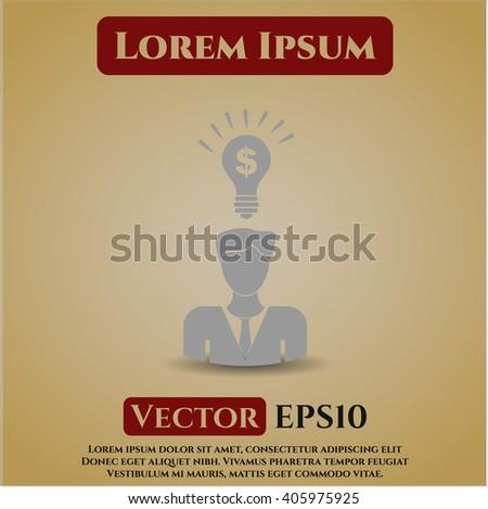 Business Idea icon or symbol