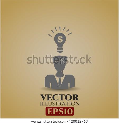 Business Idea vector icon