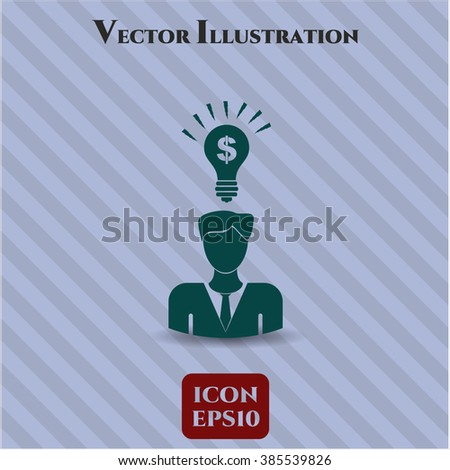 Business Idea vector icon or symbol