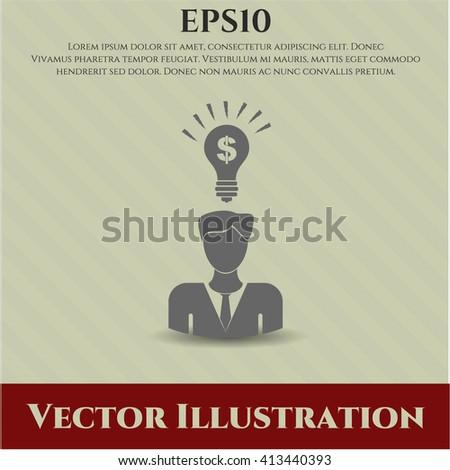 Business Idea vector symbol