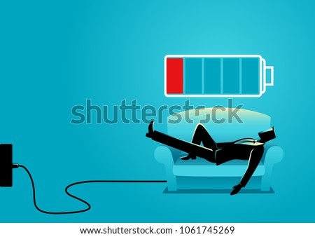 business illustration of a...