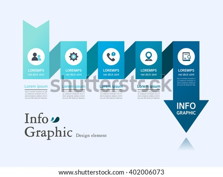 Business Info graphic Design