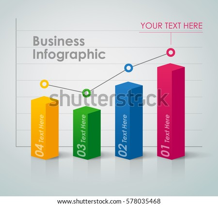 Business Infographic - bar chart