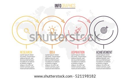 business infographics timeline