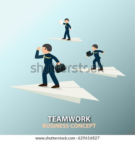 Business is about moving forward together. Good vision and supports, then success will come earlier than moving alone.