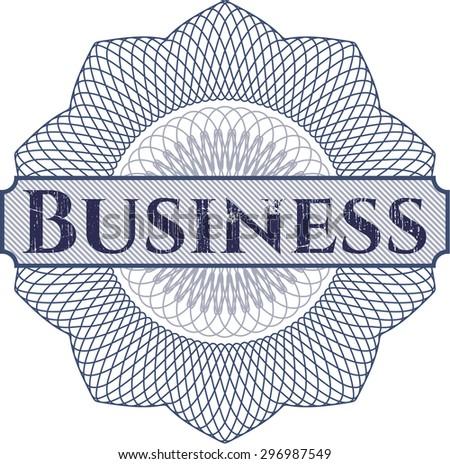 Business linear rosette