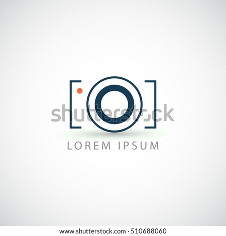 business logo photo camera vector sign