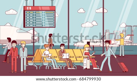 business man and woman sitting