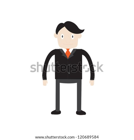 Business man cartoon