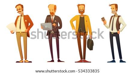 business man dress code 4 retro