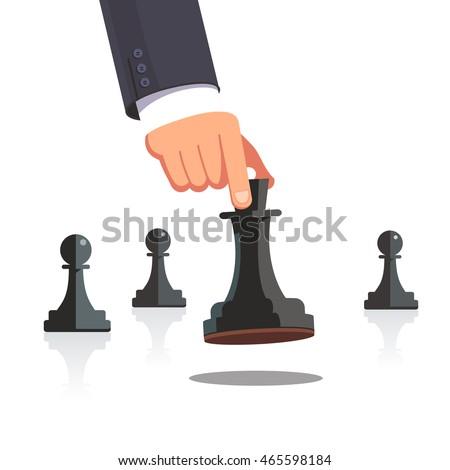 business man hand making a