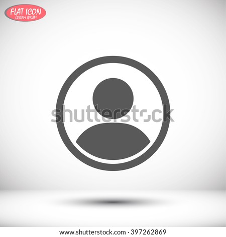 Shutterstock Business man icon. Vector Eps 10