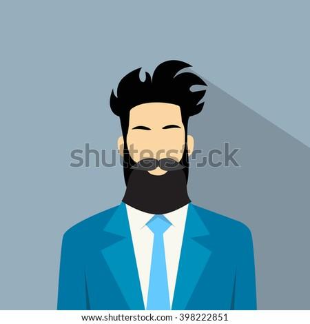 business man suit beard